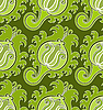 Vector clipart: Green seamless pattern