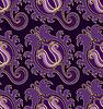 Векторный клипарт: Фиолетовый бесшовные модели