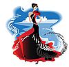 Vector clipart: Flamenco