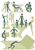 Vector clipart: People