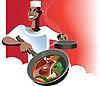 Vector clipart: Arabic cuisine
