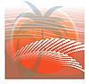 Векторный клипарт: Пальмы на солнце