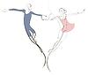 Couple in love | Stock Illustration