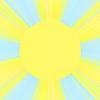 Słoneczne promienie | Stock Illustration