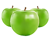 Vector clipart: green apples