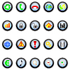 Vector clipart: icons