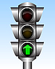 Traffic light | Stock Vector Graphics