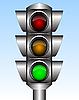 Vector clipart: Traffic light
