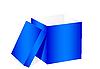 Vector clipart: Blue box