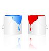 Vector clipart: Paints