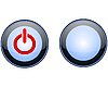 Vector clipart: switch button