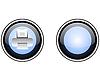 Vector clipart: print web button