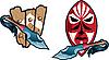 Vector clipart: Fantasy shields