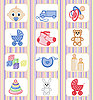 ID 3067305 | Baby-Icon-Set | Stock Vektorgrafik | CLIPARTO