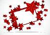 Векторный клипарт: рамка со звездами
