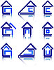 Vector clipart: icon set for construction