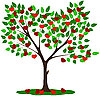 Vector clipart: tree of Love
