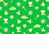 Photo 300 DPI: seamless pattern of green color with theme of childhood