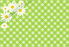 Vector clipart: background with daisies