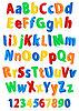 Векторный клипарт: алфавит