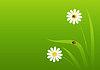 Background with ladybug | Stock Vector Graphics