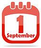 Symbol Kalendertagen nach Kenntnis