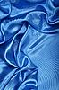 Smooth elegant blue silk as background  | Stock Foto