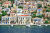 Greece. Island Symi | Stock Foto