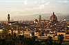 Florence at sunset | Stock Foto