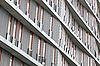 High apartment building   Stock Foto