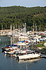 Greece. Halkidiki.Sithonia. Porto Carras. Yachts  | Stock Foto