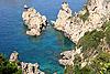 Greece. Corfu, Palaiokastritsa coast | Stock Foto