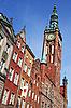 ID 3110246 | Polen. Stadt Danzig. Rathaus | Foto mit hoher Auflösung | CLIPARTO