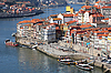 Portugal. Porto city. View of Douro river embankment  | Stock Foto