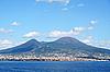 Włochy. Vesuvius wulkan | Stock Foto