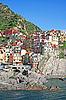 Italy. Cinque Terre. Manarola | Stock Foto
