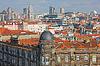Photo 300 DPI: Aerial view over the city Porto