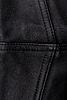 Black leather texture   Stock Foto