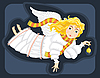 Engel mit Glocke
