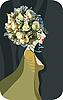 Flower queen | Stock Vector Graphics