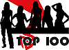 Silhouettes of the girls - top 100