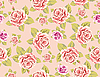 Seamless Background Pink Rose | Stock Illustration