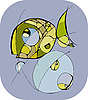 Vector clipart: Abstract Fish