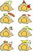 Vector clipart: Animal Food Set