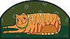 Vector clipart: Big Striped Cat