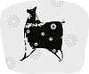 Vector clipart: Dog Silhouette