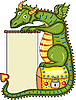 Vector clipart: Dragon Gold Chest