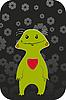 Vector clipart: Green Animal