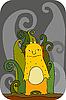 Vector clipart: Orange Monster