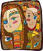 Векторный клипарт: Абстрактный Люди лица